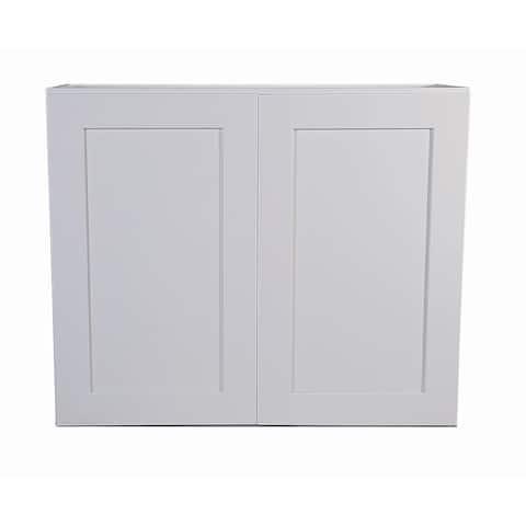 "Design House 561613 Brookings 36"" Wide x 24"" High Double Door Wall Cabinet"