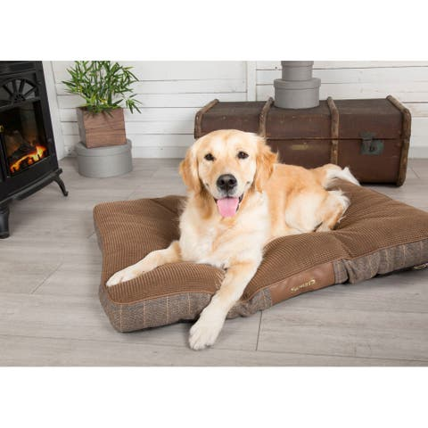 Scruffs Windsor Dog Mattress (Large) - Chestnut - Large