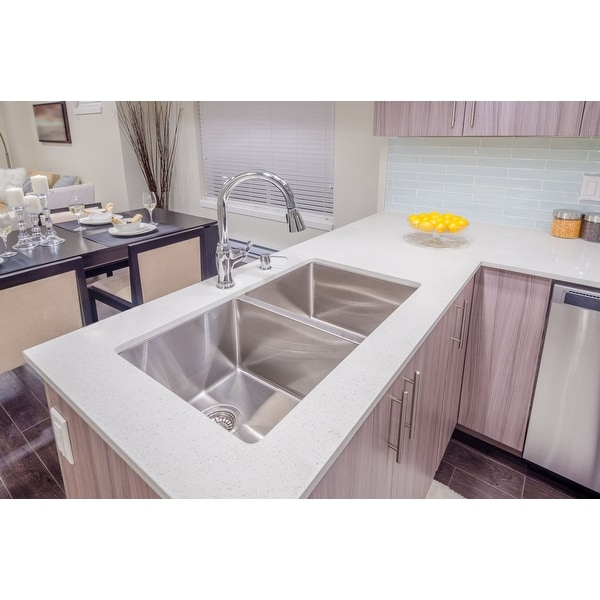 Karran Stainless Steel Undermount for Stone and Quartz. Opens flyout.