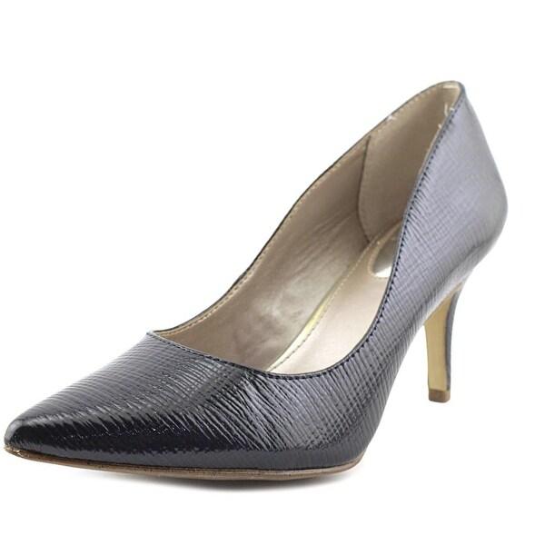 Alfani Jeules Women Pointed Toe Synthetic Blue Heels