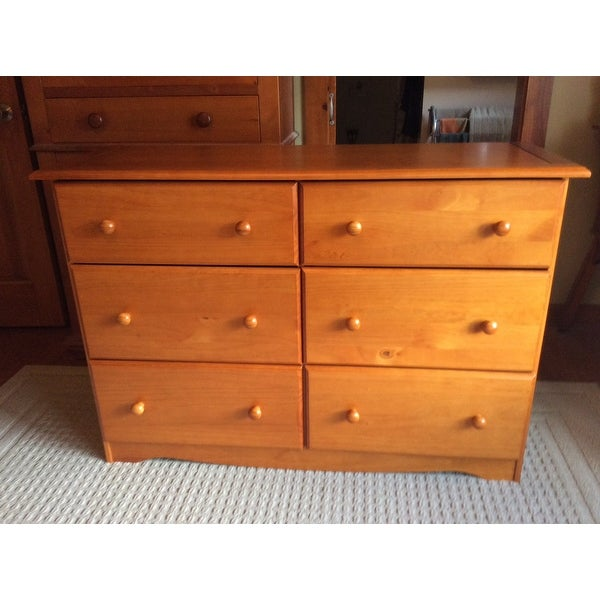 Solid Wood 6 Drawer Double Dresser By Palace Imports Free Shipping Today 16840708