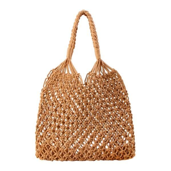 7194af3b8e57 Shop QZUnique Women's Summer Handmade Cotton Rope Woven Bag Large ...