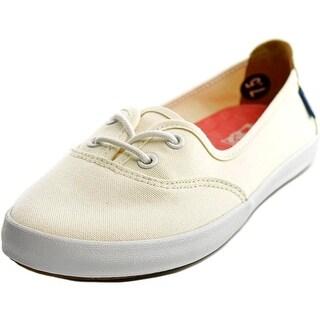 Vans Solana Women Round Toe Canvas Ivory Sneakers