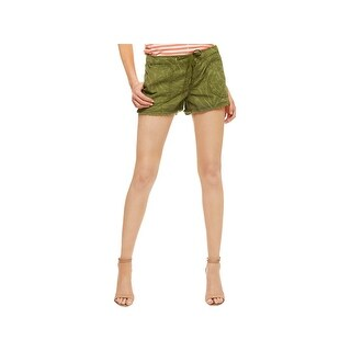 Sanctuary Womens Shorts Chambray Printed