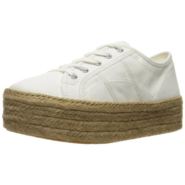 Steve Madden Womens HAMPTON Canvas Low Top Lace Up Fashion Sneakers