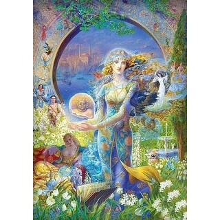 Kinuko Y. Craft Cybele's Secret Fantasy 1000 Piece Jigsaw Puzzle - Multicolored