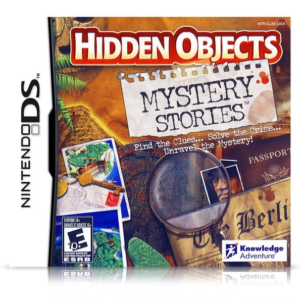 Hidden Objects: Mystery Stories (Nintendo DS)