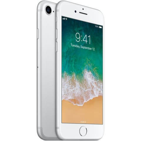 """Apple iPhone 7 32GB 4.7"""" 4G LTE Verizon Only,Silver(Certified Refurbished) - Silver"""