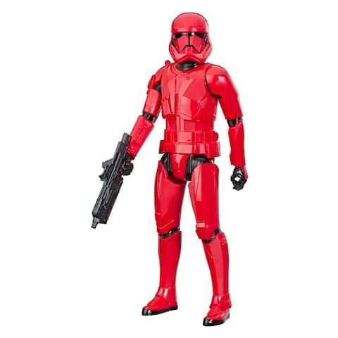 Star Wars Hero Series Star Wars: The Rise Of Skywalker Sith Trooper Toy 12-Inch Scale Figure, For Kids Ages 4 And Up