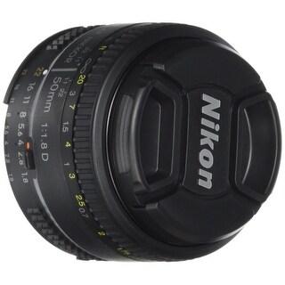 Nikon AF FX NIKKOR 50mm f/1.8D Lens with Auto Focus for Nikon DSLR Cameras - Black|https://ak1.ostkcdn.com/images/products/is/images/direct/09dc9229af3de648e31f28a7acac91273d05646d/Nikon-AF-FX-NIKKOR-50mm-f-1.8D-Lens-with-Auto-Focus-for-Nikon-DSLR-Cameras.jpg?_ostk_perf_=percv&impolicy=medium