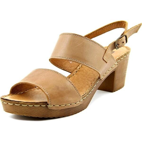 White Mountain Motor Women Taupe Sandals