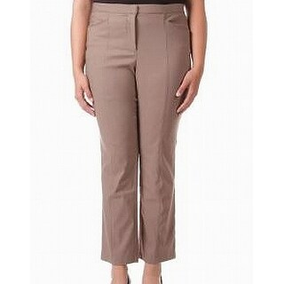 Tribal Women's Plus Ankle Length Pants Stretch