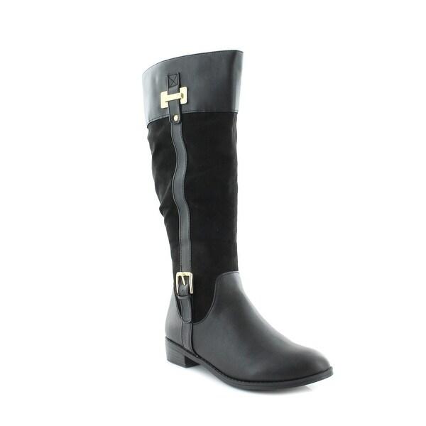 Karen Scott Deliee Women's Boots Black Fabric
