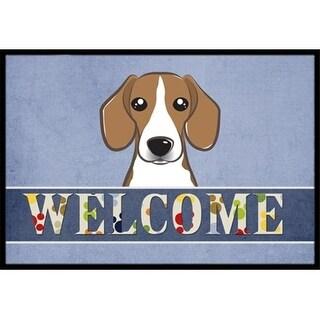Carolines Treasures BB1425MAT Beagle Welcome Indoor & Outdoor Mat 18 x 27 in.