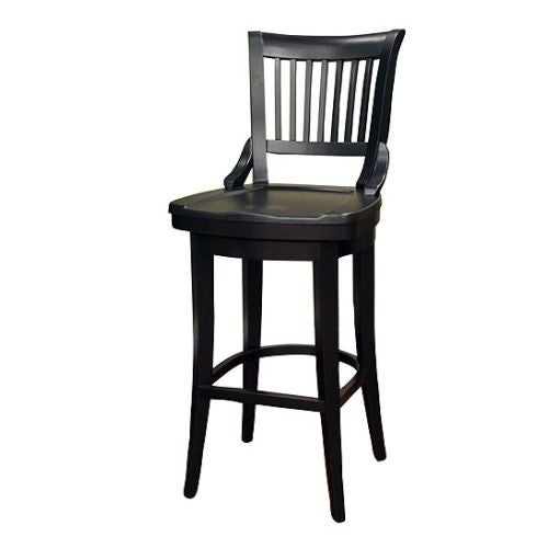 "American Heritage Billiards Liberty Extra Tall Stool Liberty 50"" Tall Wood Frame Extra Tall Bar Stool"