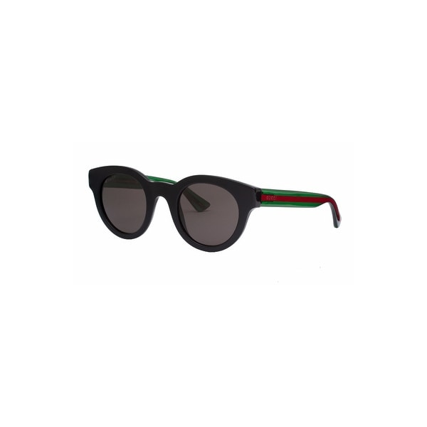 a0a57a3444 Shop Gucci Monaco Sunglasses In Black