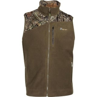 Rocky Western Vest Mens Quality Outerwear Full Zip Camo Fleece LW00137