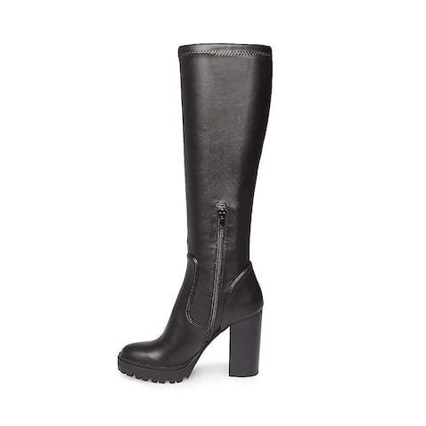 Steve Madden Womens Lately Closed Toe Knee High Fashion Boots