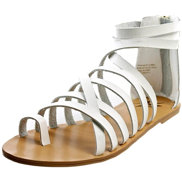 LFL Willow Open Toe Synthetic Gladiator Sandal