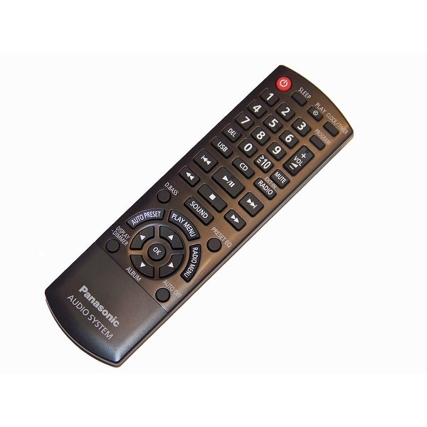 NEW OEM Panasonic Remote Control Originally Shipped With SAAKX73P, SA-AKX73P