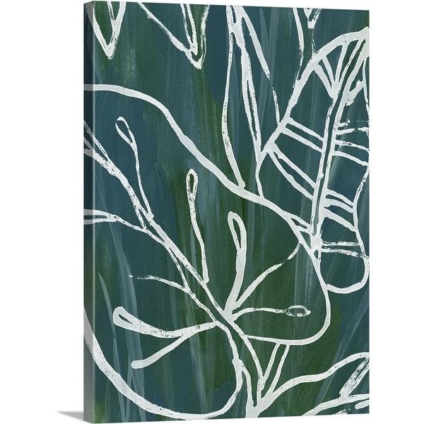 """""""Jungle Batik I"""" Canvas Wall Art"""