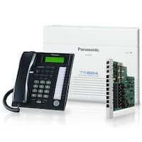 Panasonic KX-TA824-7736B (8 Pack) Advanced Hybrid Telephone / Intercom System + 8 Hybrid Phones (KX-T7736)