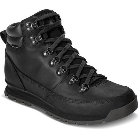 The North Face Men's Back-To-Berkeley Redux Leather Boot TNF Black/TNF Black/TNF Black