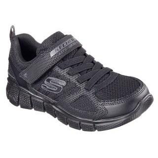 Skechers 97372L BBK Boy's EQUALIZER 2.0 - INSTANT REPLAY Sneaker