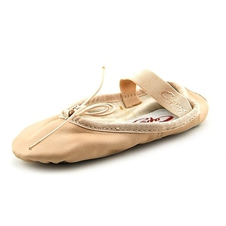 Capezio Teknik Round Toe Leather Ballet Flats