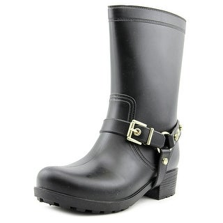 Dirty Laundry Railroad Women Round Toe Synthetic Rain Boot