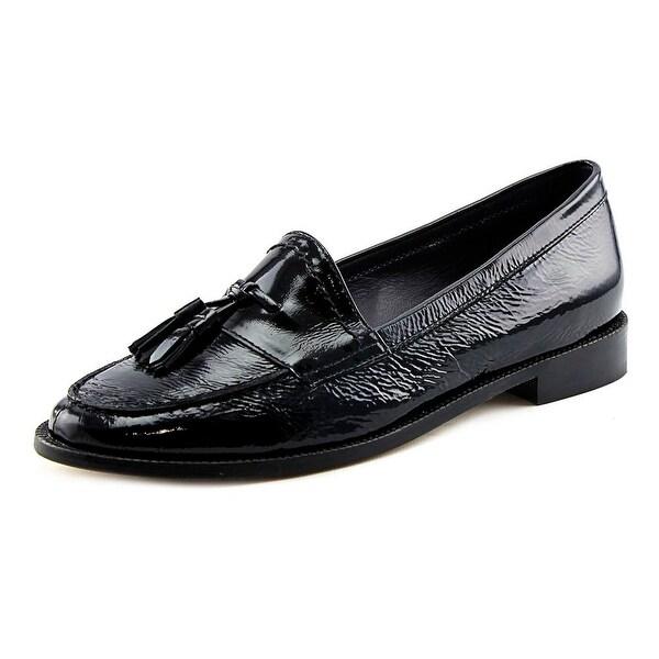 Vaneli Verona Peep-Toe Patent Leather Slingback Heel