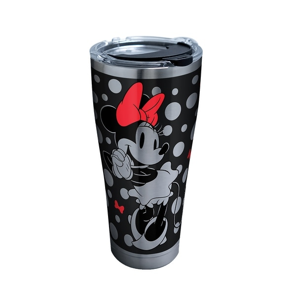 f6ae6df1d8c Shop Disney Minnie Mouse Silver 30 oz Stainless Tumbler with lid - Free  Shipping On Orders Over  45 - Overstock - 25734737