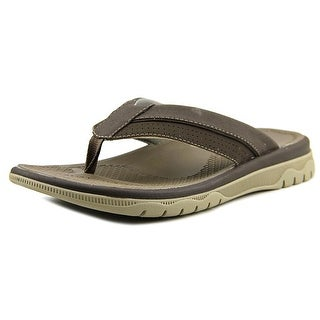 Clarks Narrative Balta Sun Men  Open Toe Synthetic Brown Thong Sandal