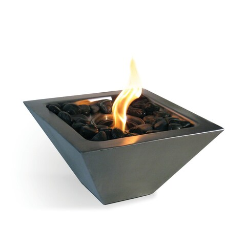 Empire (Stainless Steel) Table Top Gel Fuel Fireplace
