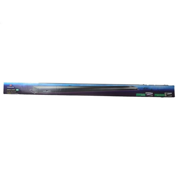Coralife Aqualight T5 Dual Fluorescent Light Fixture For: Shop Coralife Aqualight T5 Dual Fluorescent Lamp Fixture