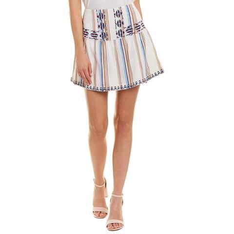 Love Sam Sarah Embroidered Skirt