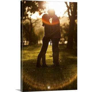 """Love Flare"" Canvas Wall Art"