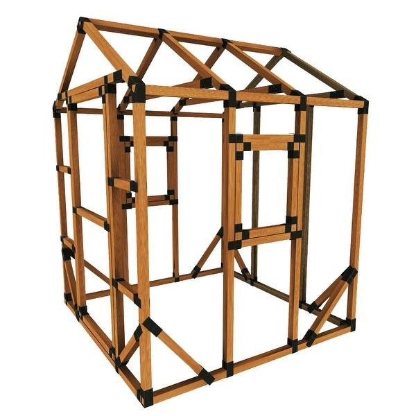 Shop Build Your Own E Z Frame 6x6 Playhouse Kit 6x6 On Sale