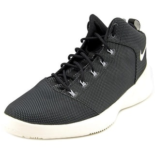 Nike Hyperfr3sh Men Round Toe Synthetic Black Basketball Shoe
