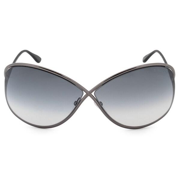 8120353bef9 Shop Tom Ford Miranda Butterfly Sunglasses FT0130 08B 68 - Free ...