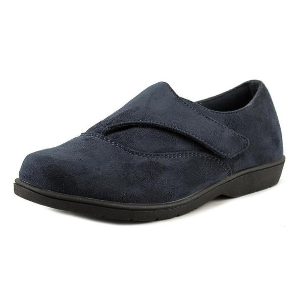 Propet Saidie Round Toe Suede Loafer