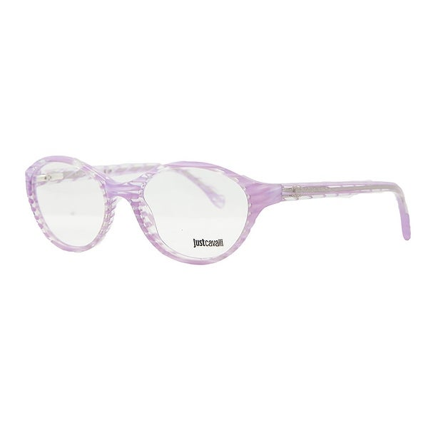 Just Cavalli JC 478 083 Pink Stripe Oval Plastic Optical Frame - 52-17-135