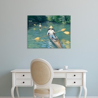 Easy Art Prints 's 'Skiffs, 1877' Premium Canvas Art