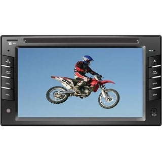 6.5 in. Indash Touchscreen LCD Monitor with DVD Player USB-SD Input