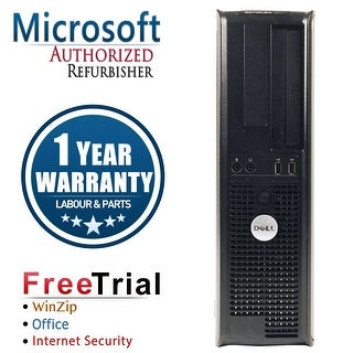 Refurbished Dell OptiPlex 755 Desktop Intel Core 2 Duo E7400 2.8G 4G DDR2 160G DVD Win 7 Pro 64 Bits 1 Year Warranty