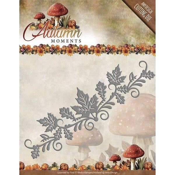 Find It Trading Amy Design Autumn Moments Die-Leaves Border