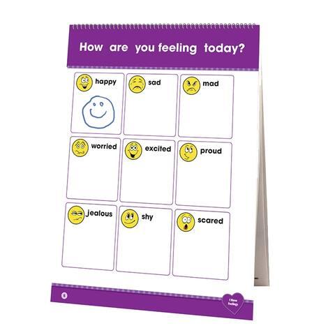 Learning Flip Chart Social Emotion Learning - White