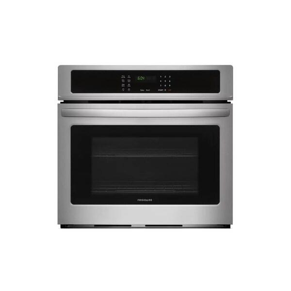 30 inch wall oven bosch frigidaire ffew3026t 30 inch wide 46 cu ft capacity electric wall oven with