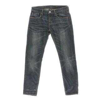 Denim & Supply Ralph Lauren Womens Boyfriend Distresed Skinny Jeans - 26