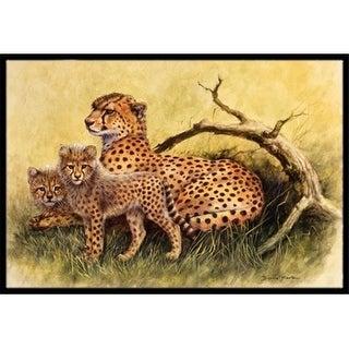Carolines Treasures BDBA0113JMAT Cheetahs by Daphne Baxter Indoor or Outdoor Mat 24 x 36